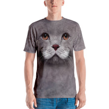"XS Cat 02 ""All Over Animal"" Men's T-shirt All Over T-Shirts by Design Express"