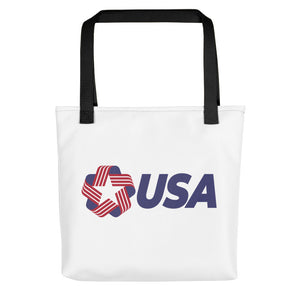 "Black USA ""Rosette"" Tote bag Totes by Design Express"