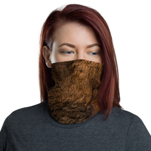 Default Title Bison Fur Neck Gaiter Masks by Design Express
