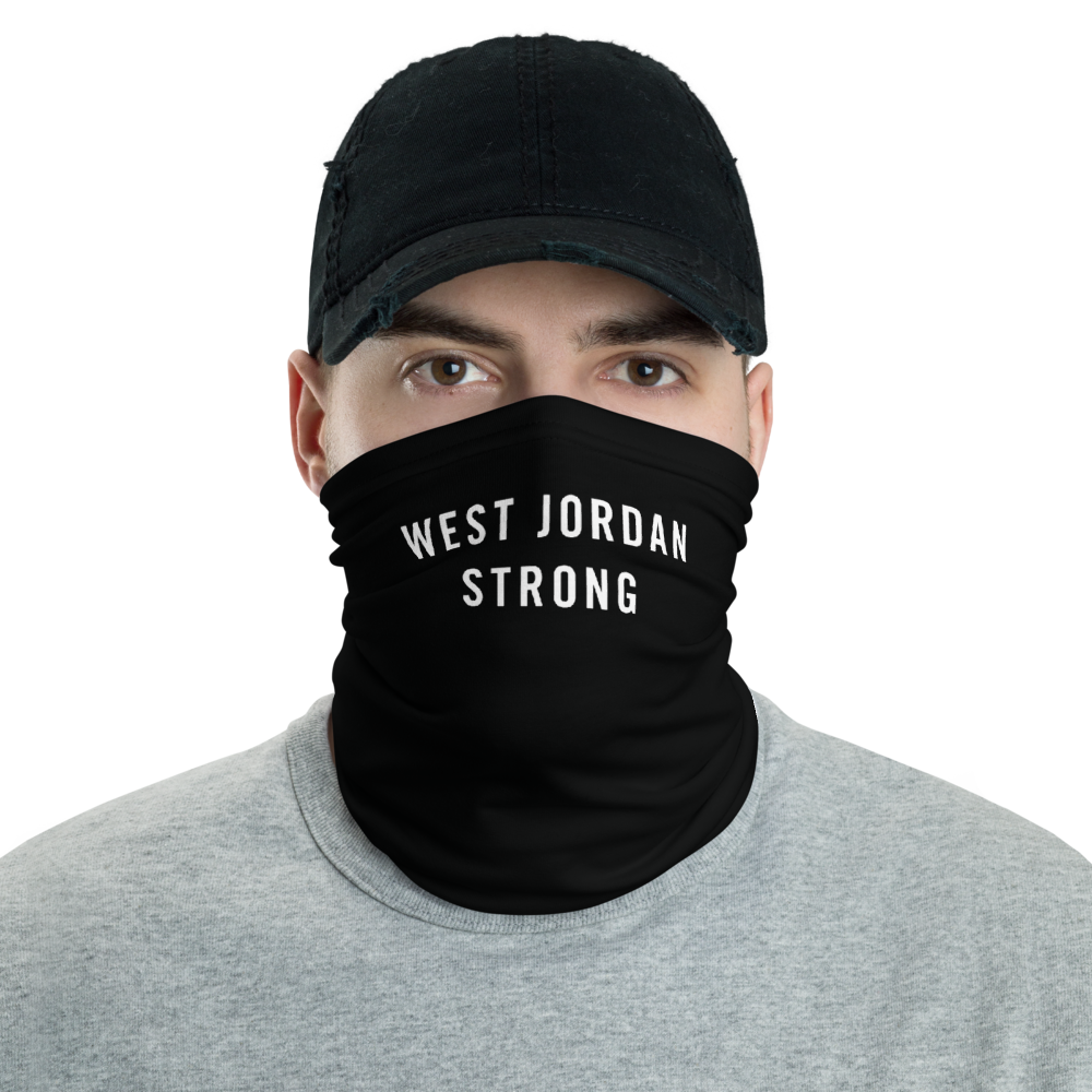 Default Title West Jordan Strong Neck Gaiter Masks by Design Express