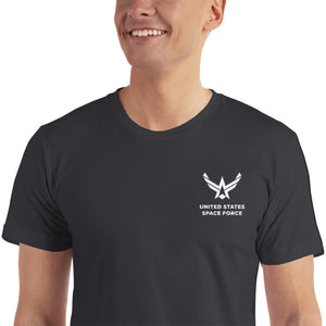 "United States Space Force ""Reverse"" Embroidered T-Shirt"
