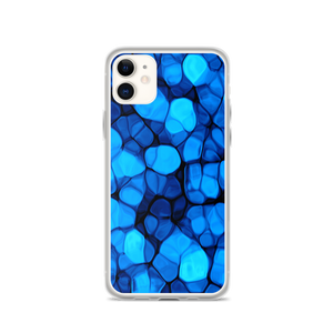 iPhone 11 Crystalize Blue iPhone Case by Design Express