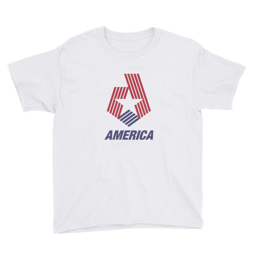 XS America Star & Stripes Youth T-Shirt by Design Express