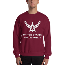 "Maroon / S United States Space Force ""Reverse"" Sweatshirt by Design Express"