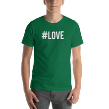 Kelly / S Hashtag #LOVE Short-Sleeve Unisex T-Shirt by Design Express