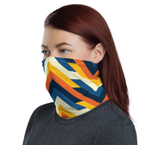 Geometric Arrows Print Neck Gaiter Masks by Design Express