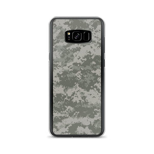 Samsung Galaxy S8+ Blackhawk Digital Camouflage Print Samsung Case by Design Express