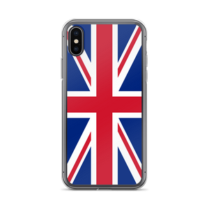 "iPhone X United Kingdom Flag ""Solo"" iPhone Case iPhone Cases by Design Express"