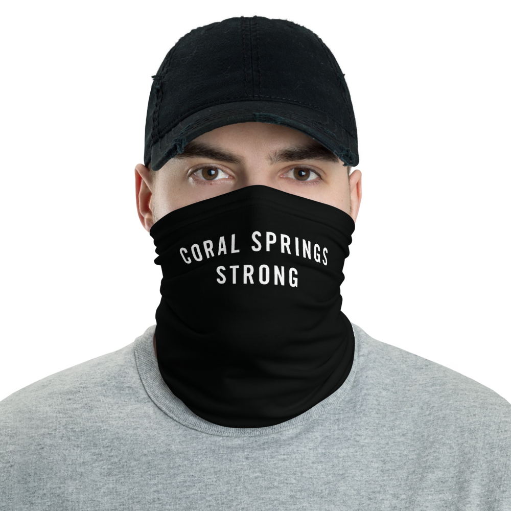Default Title Coral Springs Strong Neck Gaiter Masks by Design Express