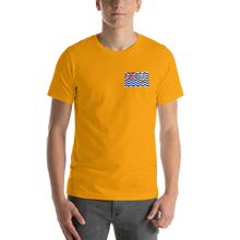 Gold / S British Indian Ocean Territory Unisex T-Shirt by Design Express