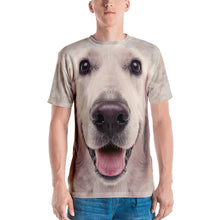 "XS Golden Retriever ""All Over Animal"" Men's T-shirt All Over T-Shirts by Design Express"