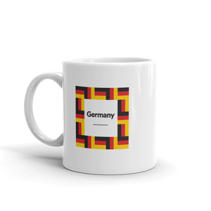 "Germany ""Mosaic"" Mug Mugs by Design Express"