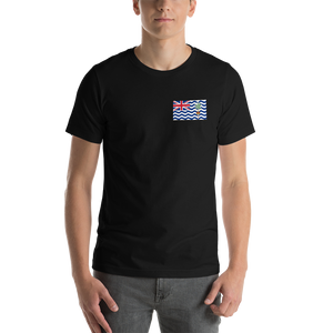 Black / S British Indian Ocean Territory Unisex T-Shirt by Design Express