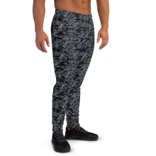 Dark Grey Digital Camouflage Men's Joggers by Design Express