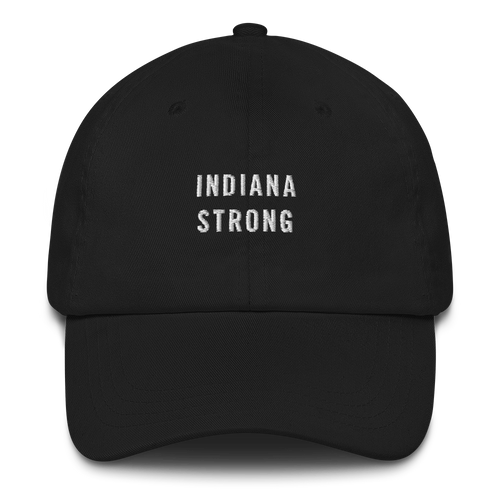 Default Title Indiana Strong Baseball Cap Baseball Caps by Design Express