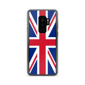 "Samsung Galaxy S9+ United Kingdom Flag ""Solo"" Samsung Case Samsung Cases by Design Express"