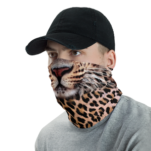 Leopard Neck Gaiter Masks by Design Express