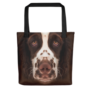 Default Title English Springer Spaniel Dog Tote Bag Totes by Design Express