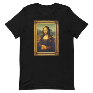 XS Monalisa in Frame Unisex T-Shirt by Design Express