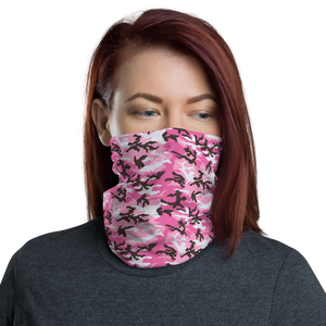Default Title Pink Camo Neck Gaiter Masks by Design Express