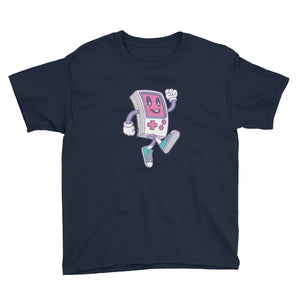 Game Boy Happy Walking Youth Short Sleeve T-Shirt