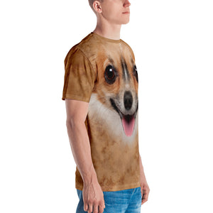 "Chihuahua Dog ""All Over Animal"" Men's T-shirt All Over T-Shirts by Design Express"