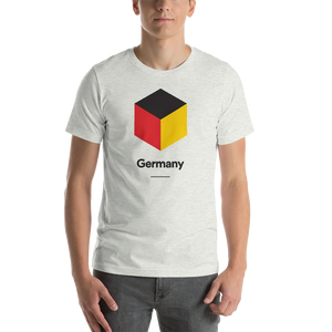 "Ash / S Germany ""Cubist"" Unisex T-Shirt by Design Express"