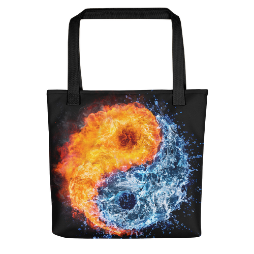 Default Title Fire & Water Tote bag by Design Express