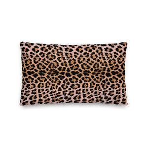"Default Title Leopard ""All Over Animal"" 2 Rectangular Premium Pillow by Design Express"
