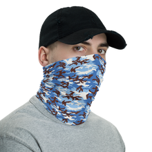 Cloudy Sky Overhead Camo Neck Gaiter Masks by Design Express