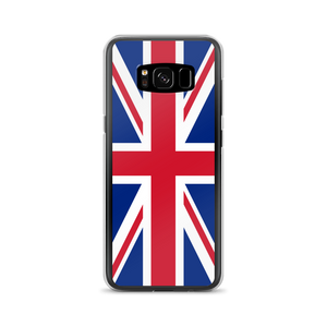 "Samsung Galaxy S8 United Kingdom Flag ""Solo"" Samsung Case Samsung Cases by Design Express"