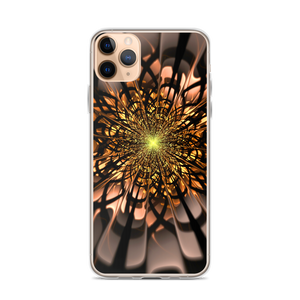 iPhone 11 Pro Max Abstract Flower 02 iPhone Case by Design Express