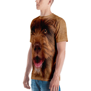 "Crossbreed Dog 02 ""All Over Animal"" Men's T-shirt All Over T-Shirts by Design Express"