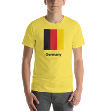 "Yellow / S Germany ""Block"" Unisex T-Shirt by Design Express"