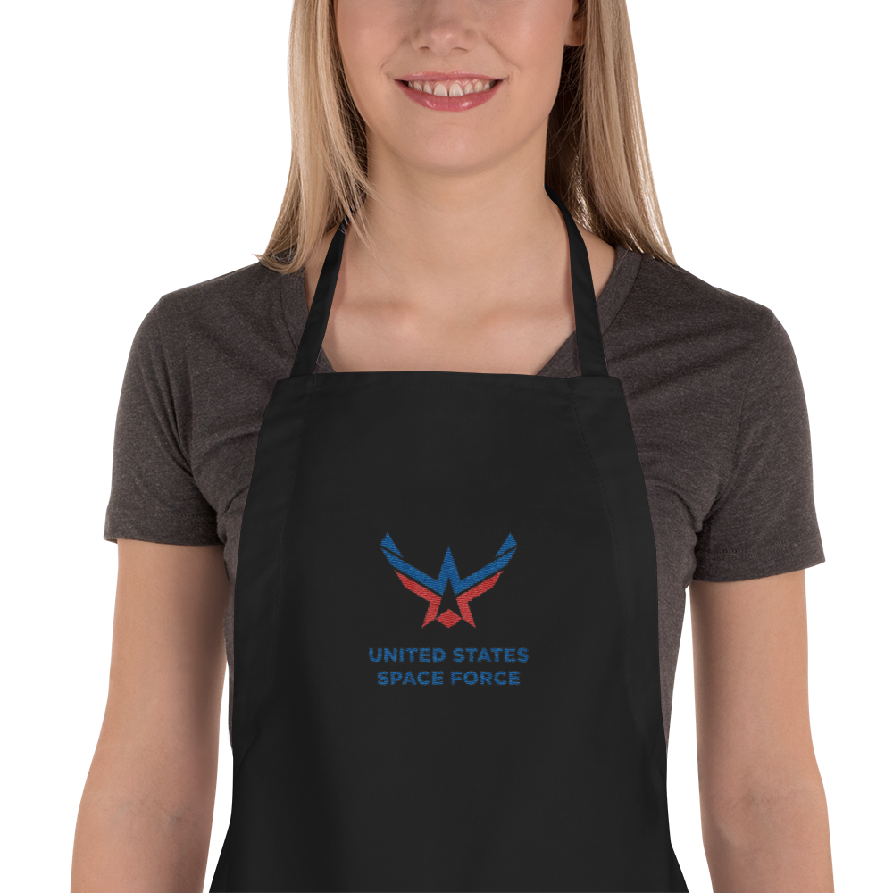 United States Space Force Embroidered Apron