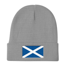 "Scotland Flag ""Solo"" Knit Beanie"