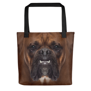 Default Title Boxer Dog Tote Bag Totes by Design Express