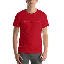 Red / S Introvert Short-Sleeve Unisex T-Shirt by Design Express