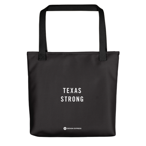 Default Title Texas Strong Tote bag by Design Express