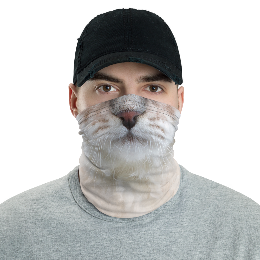 Default Title Siberian Kitten Neck Gaiter Masks by Design Express