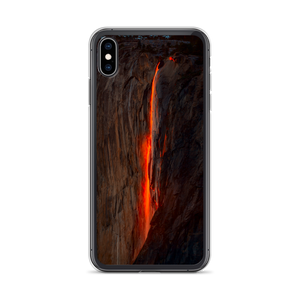 iPhone XS Max Horsetail Firefall iPhone Case by Design Express