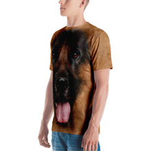 "German Shepherd Dog ""All Over Animal"" Men's T-shirt All Over T-Shirts by Design Express"