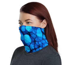 Crystalize Blue Neck Gaiter Masks by Design Express