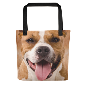 Default Title Pit Bull Dog Tote Bag Totes by Design Express