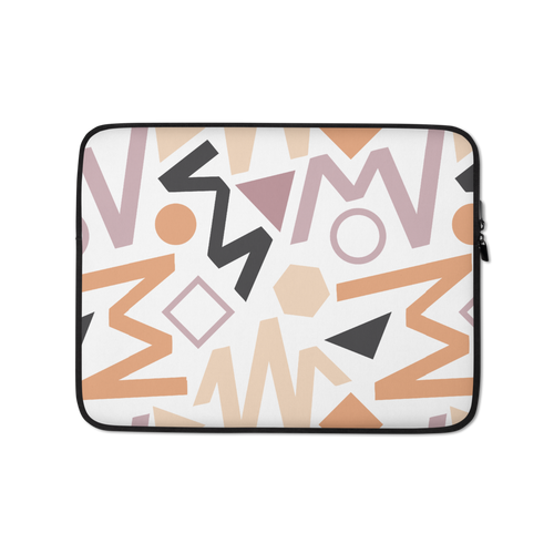 13 in Soft Geometrical Pattern Laptop Sleeve by Design Express