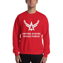 "Red / S United States Space Force ""Reverse"" Sweatshirt by Design Express"