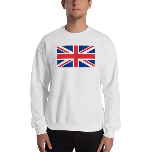 White / S United Kingdom Flag