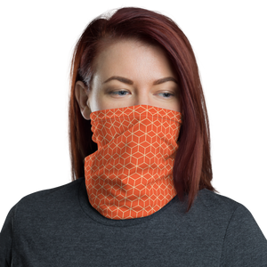 Default Title Orange Diamond Neck Gaiter Masks by Design Express