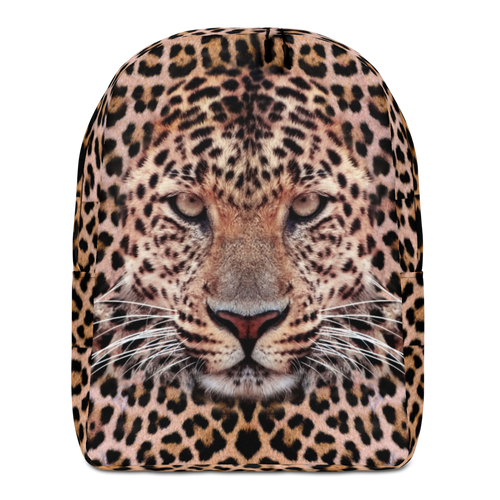 Default Title Leopard Face Minimalist Backpack by Design Express