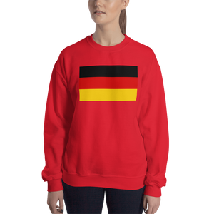 Red / S Germany Flag Sweatshirt by Design Express